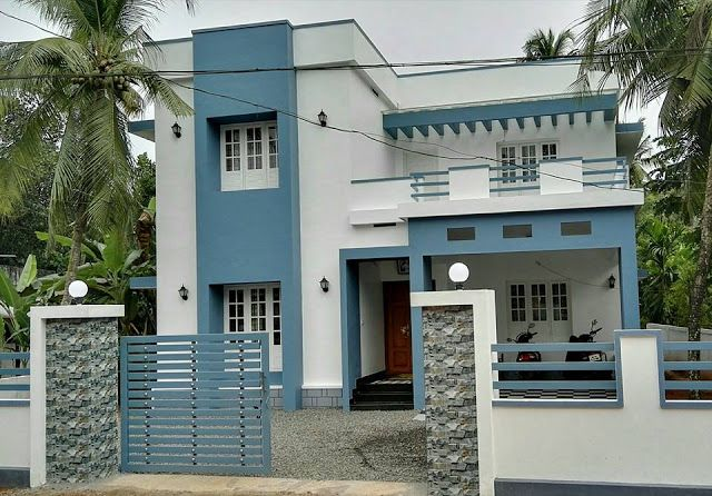 4 Bedroom Contemporary Home In 2100sqft For 30 Lakhs With Free Plan Free Kerala Home Plans Contemporary House Kerala House Design 4 Bedroom House Plans