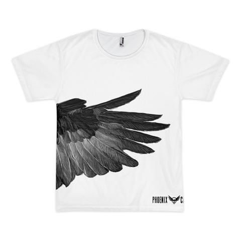 Raven Wing Front/Back Printed T-Shirt
