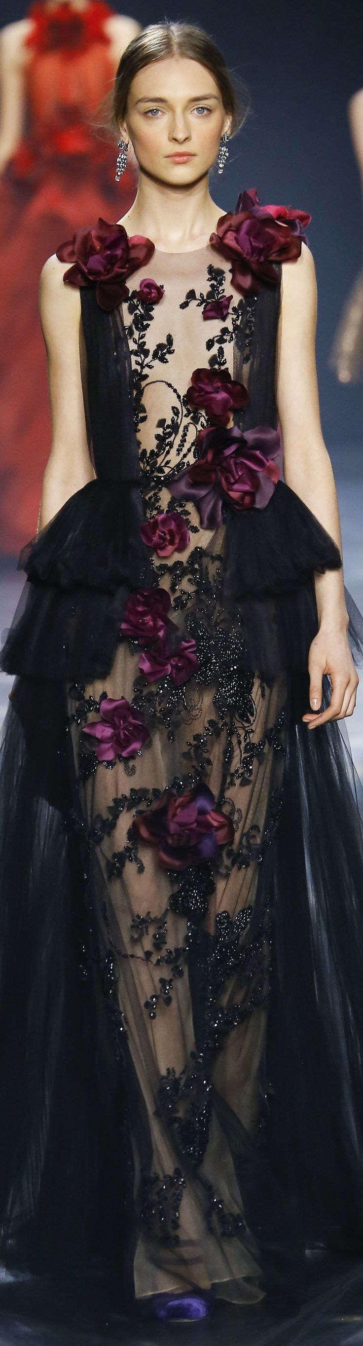 RosamariaGFrangini | VIPBlackOrchidClub  | FashionChic | Marchesa fall 2016 RTW                                                                                                                                                      More