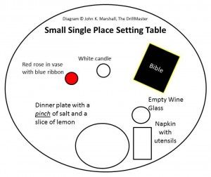 16 best Missing In Action Table Ideas images on Pinterest