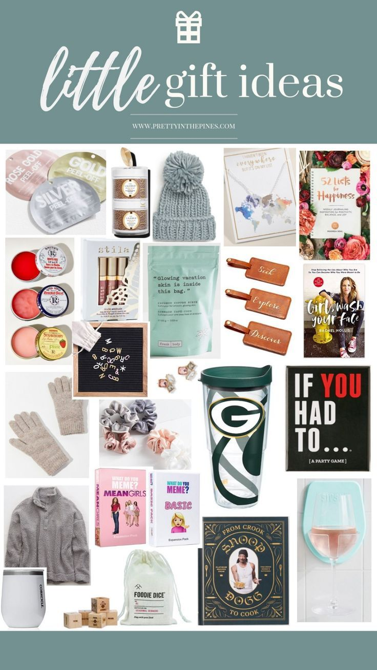 Secret Santa And Other Small Gift Ideas Under 25 Small Gifts