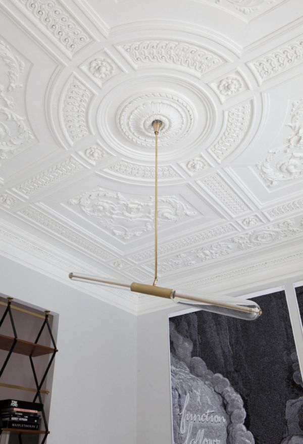 Ceiling, light, art!