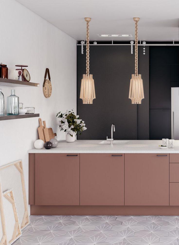 funky kitchen lighting. Fargede Fronter. Funky StyleBeautiful KitchenKitchen LightingLighting Kitchen Lighting
