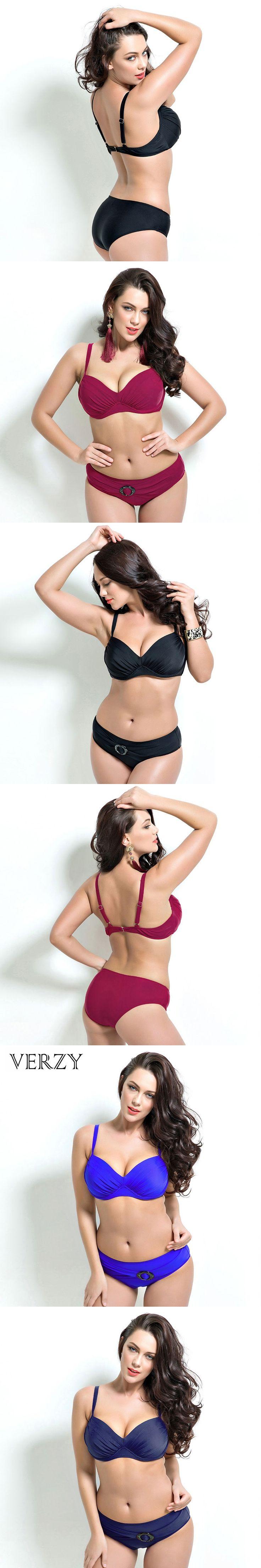 Top quality Blue sexy triangle bikinis women 2017 brazilian bikini set plus size bathing suit push up swimming suit for women
