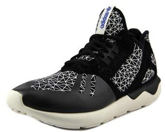 adidas Tubular Runner Round Toe Suede Running Shoe.