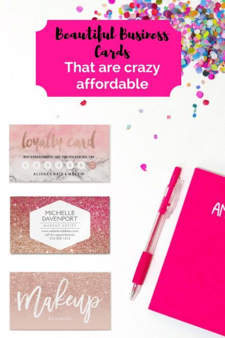 affordable business cards for salons spas salon pinterest loyalty cards estheticians and business - Affordable Business Cards