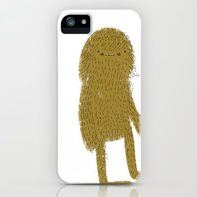 Sasquatch man iPhone Case by Lori Joy Smith - $35.00