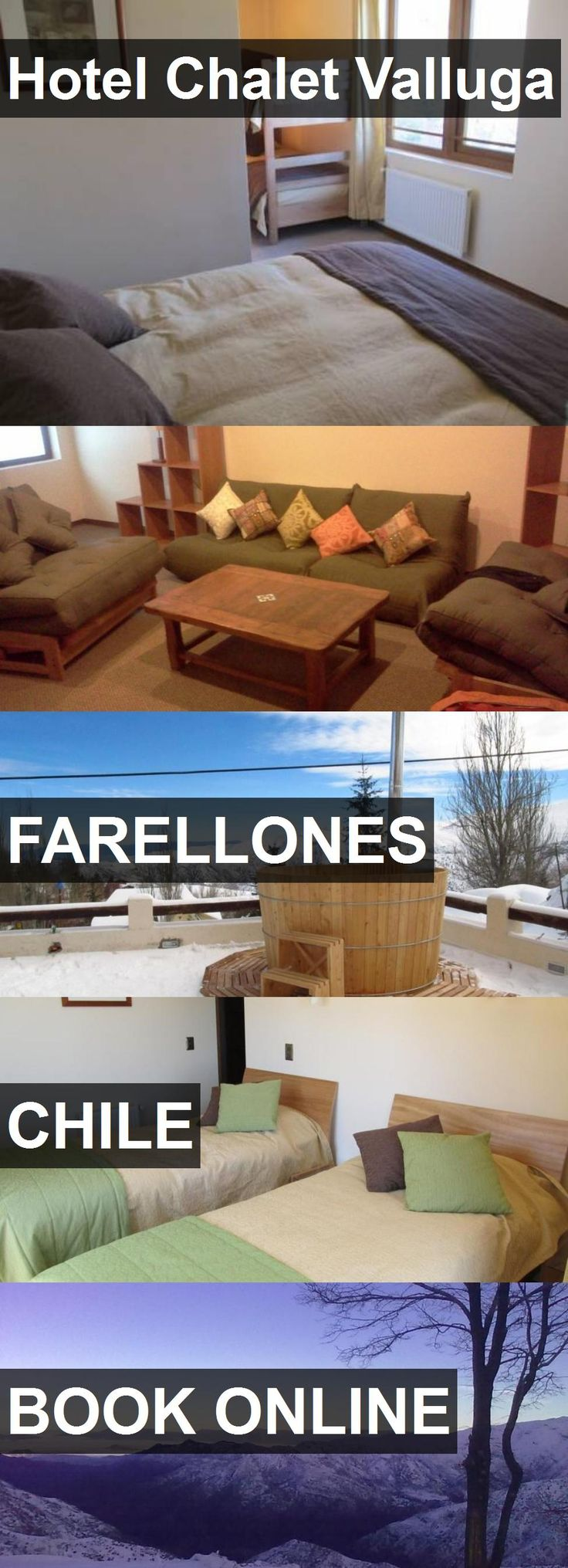 Hotel Chalet Valluga in Farellones, Chile. For more information, photos, reviews and best prices please follow the link. #Chile #Farellones #travel #vacation #hotel