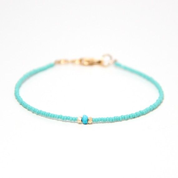 Three Wishes  Arizona Turquoise by ayofemijewelry on Etsy, $24.00