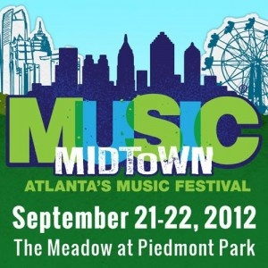 Ticket Discounts for Music Midtown 2012 at Piedmont Park on September 21 & 22