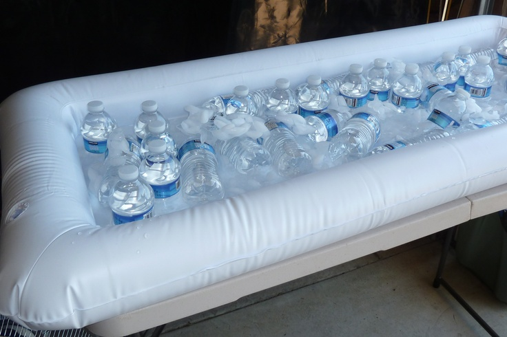 Grad party:  Inflatable Bar