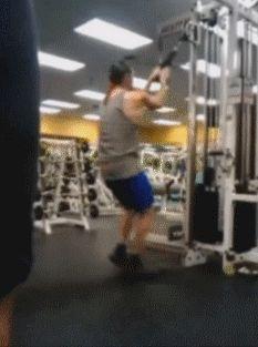 35 #fails à la salle de sport... [GIF] serie de fails a la salle de sport 12