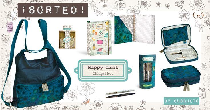 ¡Sorteo nueva colección Happy List!