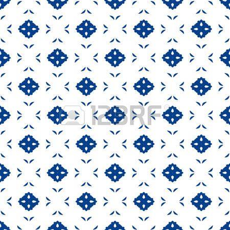Blauw En Wit Marokkaans Naadloos Patroon. Oosterse Abstracte Motieven. Keramiek Of Textiel Geometrisch Patroon Tegels. Royalty Vrije Cliparts, Vectoren, En Stock Illustratie. Image 58176042.