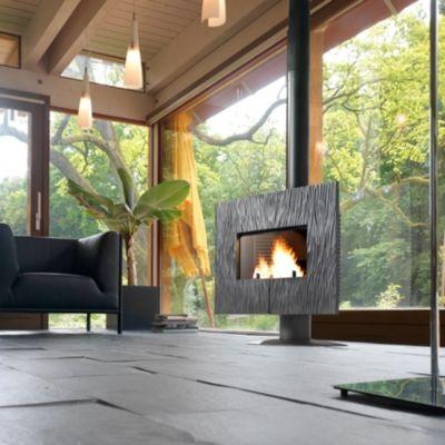 Poêle à bois Gaya Ardoise INVICTA fonte anthracite pour 2150€