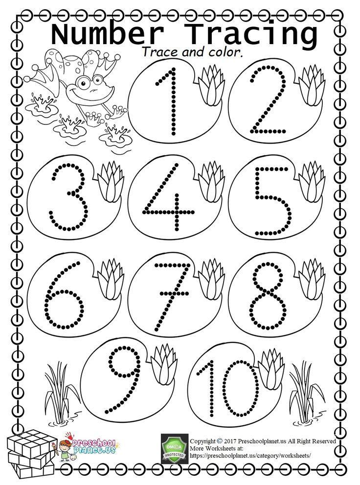 Preschool Worksheet Set 09. Download 5 PDF printable
