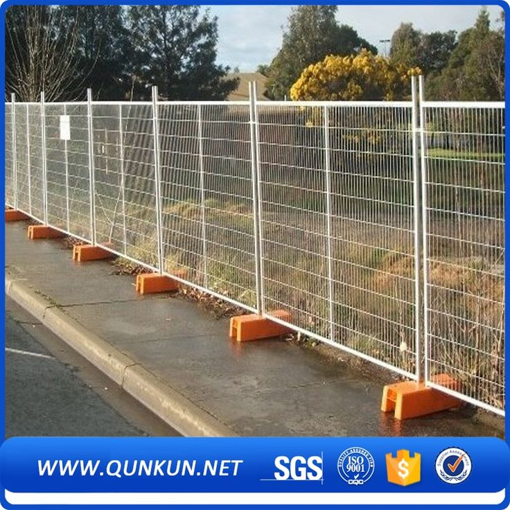 Cheap Pool Temporary Fence Crowd Control Barrier For Sale 6ft Temporary Fencing Panels