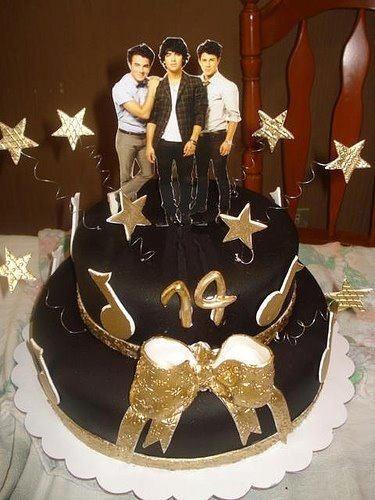 Jonas Brothers Cake