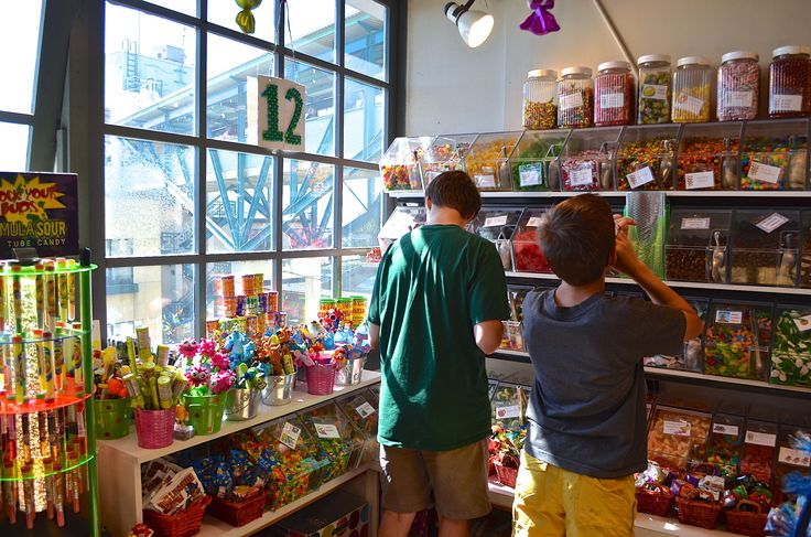 Kids Love Sweetie S Candy Shop In The Lower Levels Of Pike
