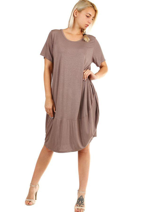e283d407bdc5 Volné plážové jednobarevné šaty - koupit online na Glara.cz