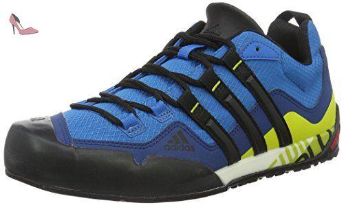 adidas Terrex Swift Solo, Chaussures de Randonnée Mixte Adulte, Bleu-Azul (Azuuni / Negbas / Limuni), 41 1/3 EU - Chaussures adidas (*Partner-Link)