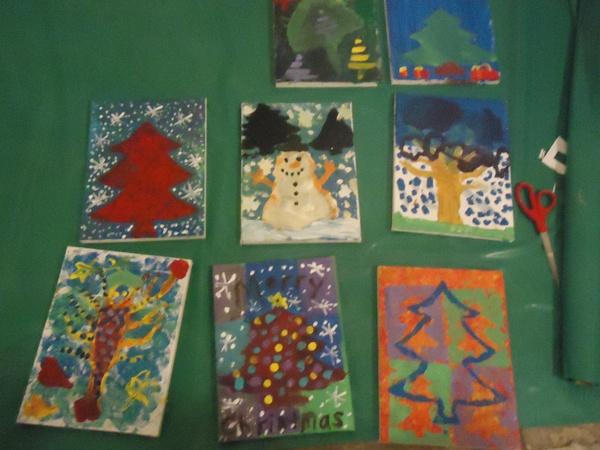 """Paint a Memorable Christmas""  12/20/2012  Studio 209"