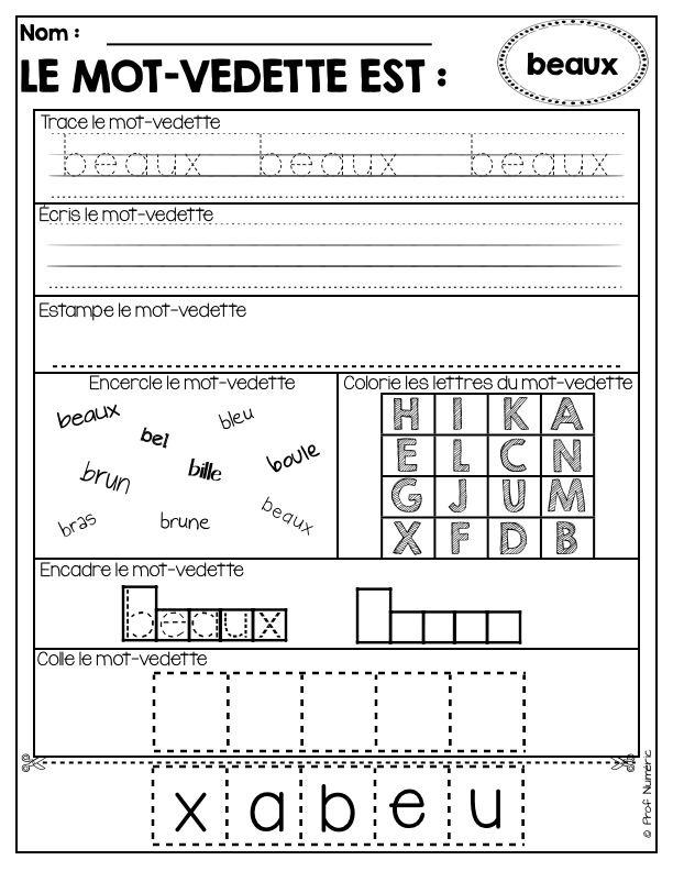 Les mots d'orthographe devant être connus des élèves de 1ère année se retrouvent dans ce produit numérique (liste du MELS 2014). Dans des activités répétitives, les élèves seront autonomes à réaliser ces courtes tâches afin d'assimiler rapidement les 49 adjectifs que composent cet ensemble.