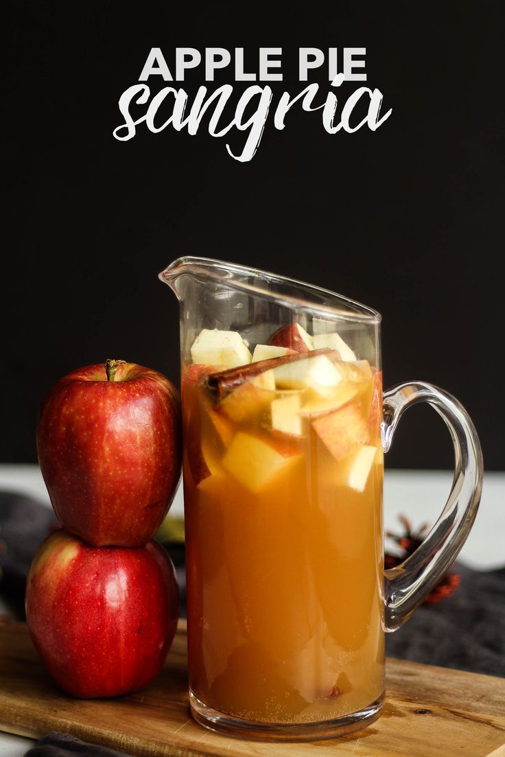 Apple Pie Sangria | the blissful balance                                                                                                                                                                                 More
