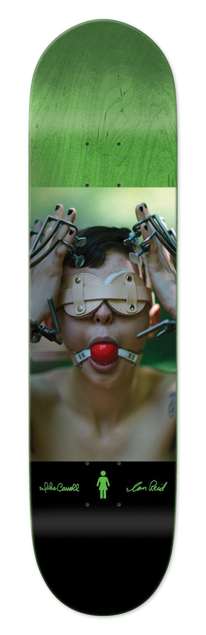 """Izzy"" Skateboard Deck | Ian Reid x Mike Carroll x Girl"