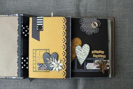 very cute album!! by Magalie Beaulant at scrapinthecity.canalblog.com