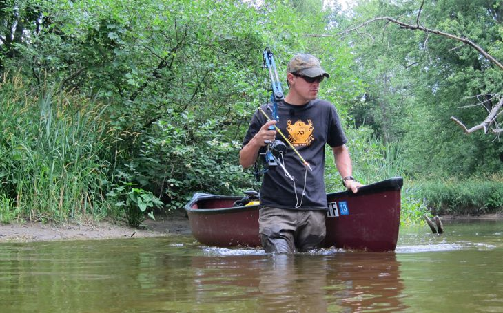 7 best images about bow fishing on pinterest water for Muskegon river fishing