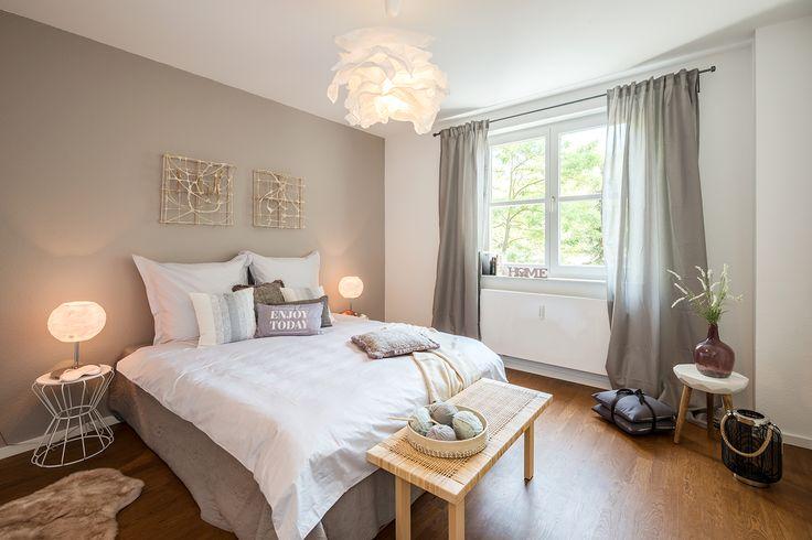 Musterwohnung: Die großzügigen Apartments bieten viel Spielraum für kreative Ideen.