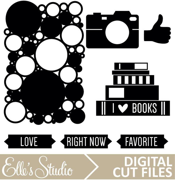 September Digital Cut File from Elle's Studio