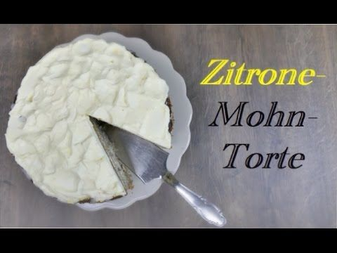 Zitrone-Mohn-Torte | lecker fruchtige Torte | von Nicoles Zuckerwerk