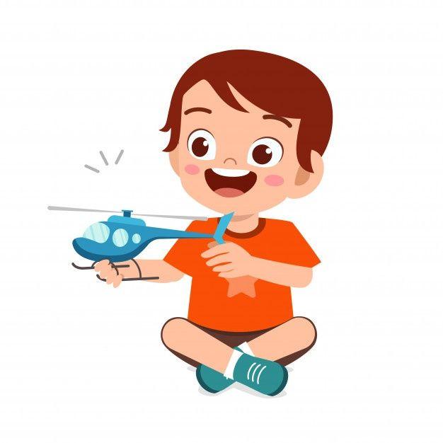 Feliz Lindo Nino Nino Jugar Con Juguete Premium Vector Freepik Vector Caracter Dibujos Animados Chico Nino Ninos Jugando Caricaturas De Ninos Ninos