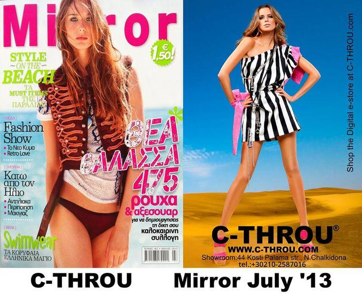 C-THROU @Mira Strohmaier Magazine July'13