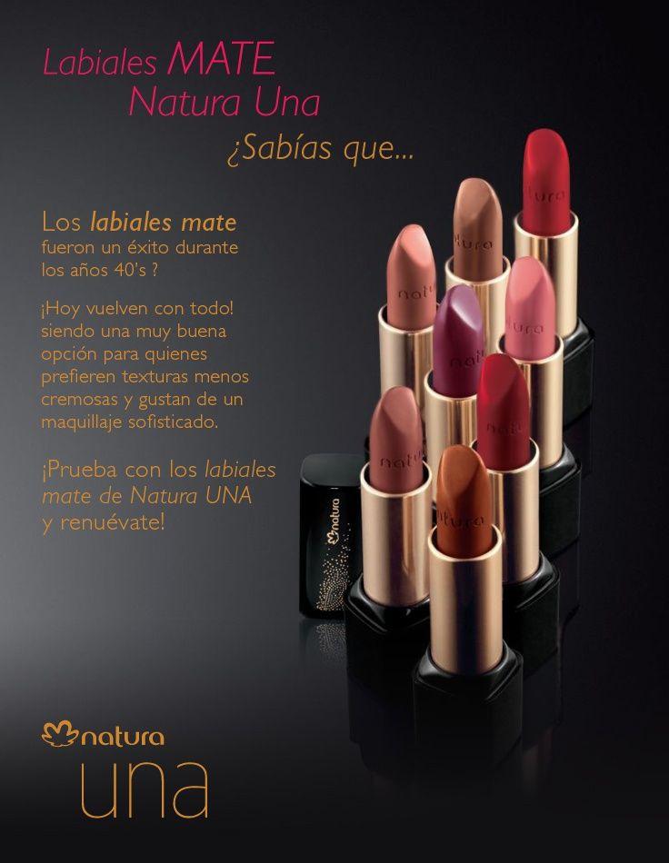 ♥Tips! Sobre Natura Labiales mate. https://www.facebook.com/TienditadeBellezaLaguna/