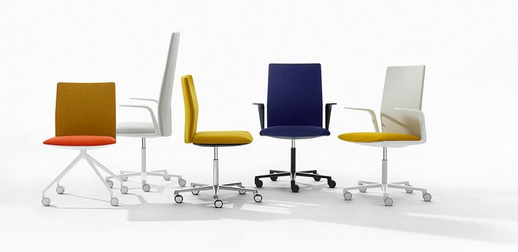 Design-Toimistotuolit Kinesit, valmistanut Arper, design Lievore Altherr Molina