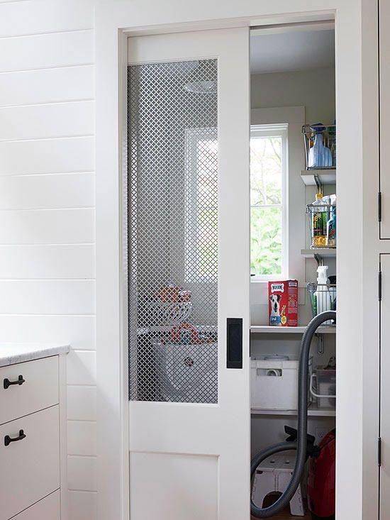 New Pantry Door Alternatives Basements Ideas Door Design Interior, Pocket Doors Bathroom, Interior, Home, Glass Pocket Doors, Room Doors, Diy Door, Sliding Barn Door Hardware, Pantry Door
