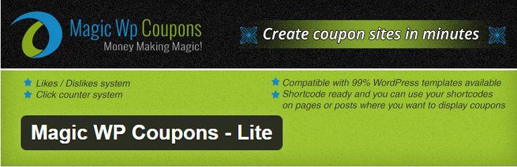 Magic WP Coupons Lite