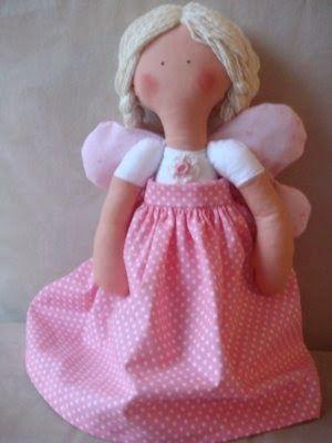 Textilmania: Bábiky