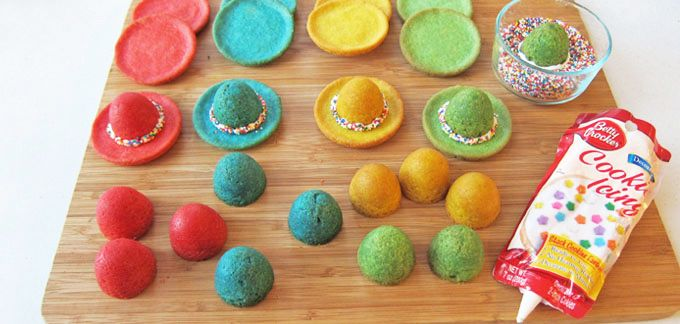 Sombrero Pinata Cookies recipe - from Tablespoon!