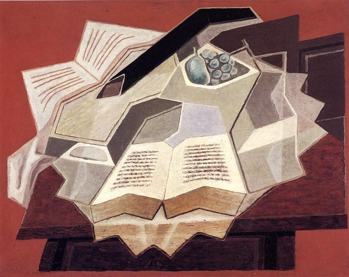 The Open Book by Juan Gris #art