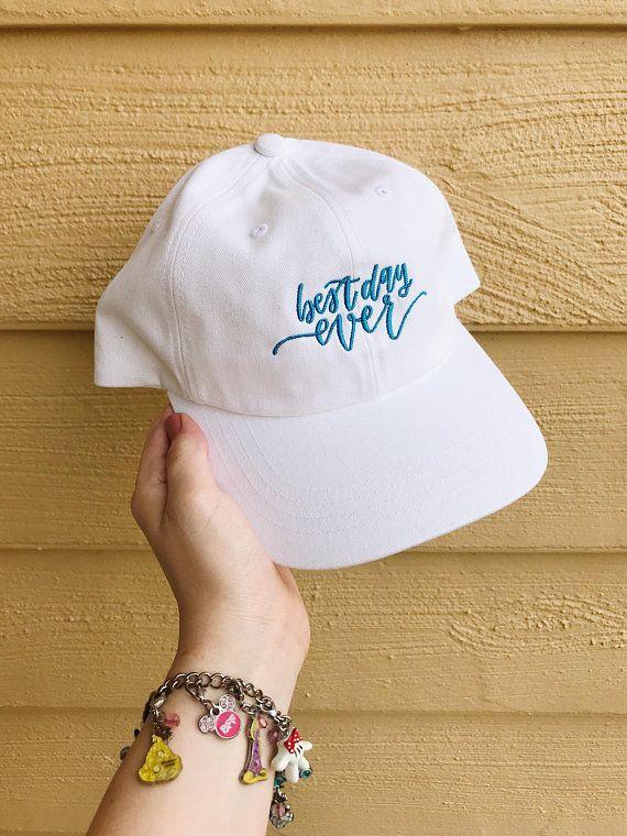 Best Day Ever Disney Dad Hat Disney Hat Disney Baseball Hats Cute Hats Disney Hats Women Disney Cap Disneyland Hat Womens Hats For Women Disney Hats Cute Hats