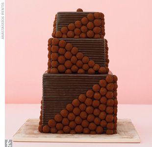 dark chocolate truffle wedding cake 19 best chocolate wedding cakes images on 13336