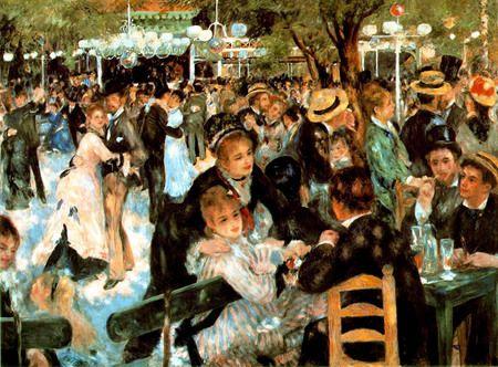 Autor: Pierre-Auguste Renoir. Estilo: Impresionismo. Tema: Costumbrismo. Está en: Los más famosos.