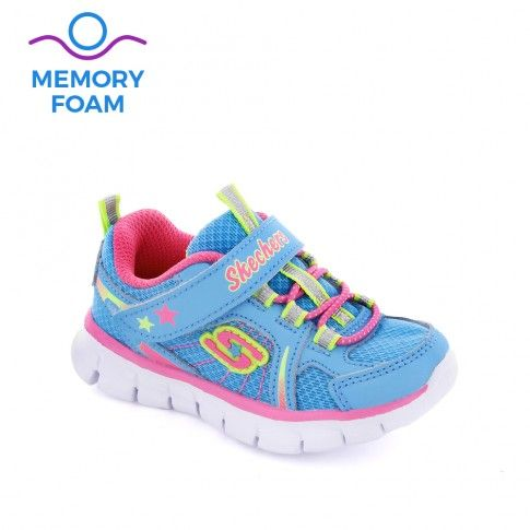 Pantofi sport fete Synergy Lovespun Blue - Skechers