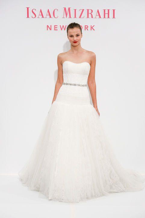 Best Wedding Dresses From Bridal Market Spring 2014  Isaac Mizrahi for Kleinfield