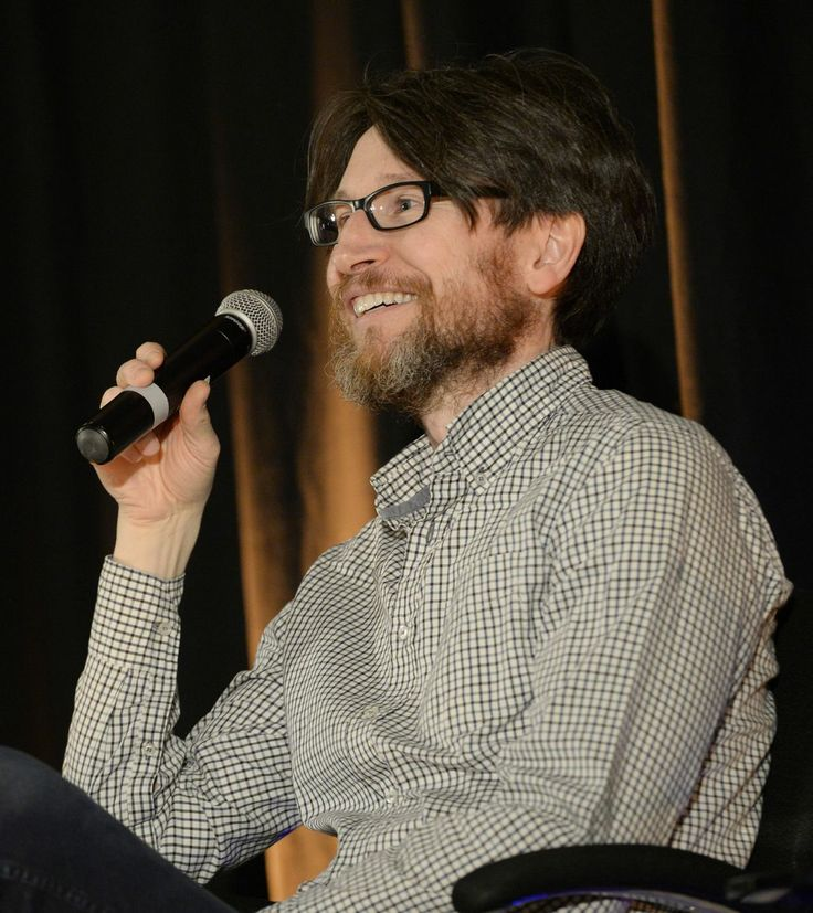 One of the stars of the show Jonathan Aris at the Sherlock Convention at The Hilton Metropole Hotel, Birmingham, UK