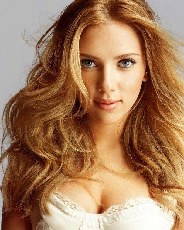 Scarlett Johansson Bal Rengi Saçı